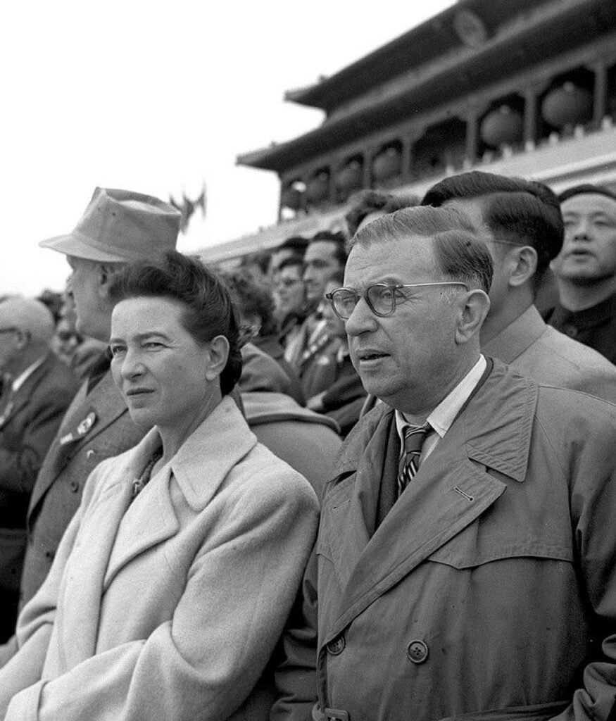 Simone de Beauvoir's role in the history of psychedelic plant medicines is often ignored.