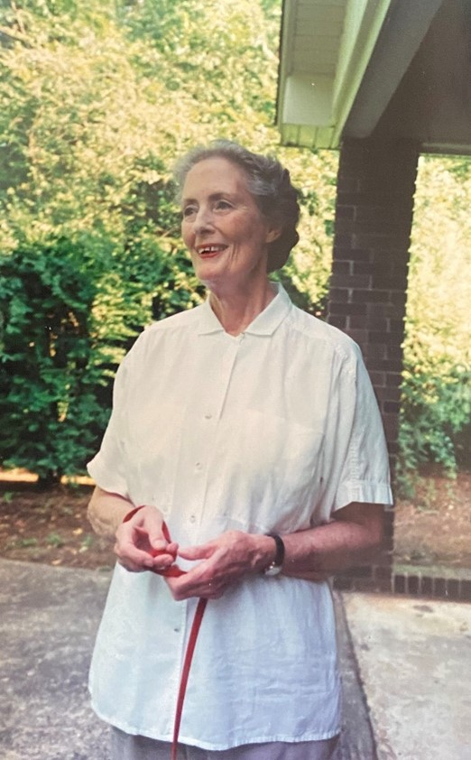 Jane Osmond, wife of Humphry Osmond, in the 1990s