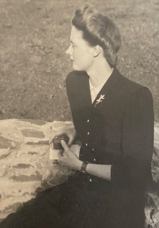 Jane Osmond, wife of Humphry Osmond, in the 1950s.